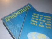 Efemérides imprescindibles para la Astrología